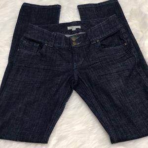 CAbi Jeans style #201 size 4 dark wash